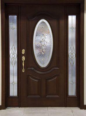 diseños de puertas de madera interiores