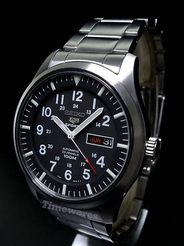 Seiko 5 Sports Automatic Watch 100M SNZG13K1 | eBay