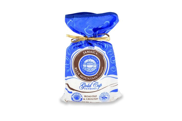 Gold cup supreme jamaica blue mountain coffee 227g blue