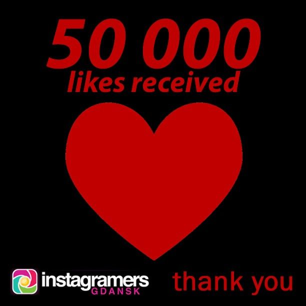Thank you very much for your 50000 likes of IgersGdansk photos and videos! #igers #instagramers #igersgdansk #igerspoland #beautiful #...
