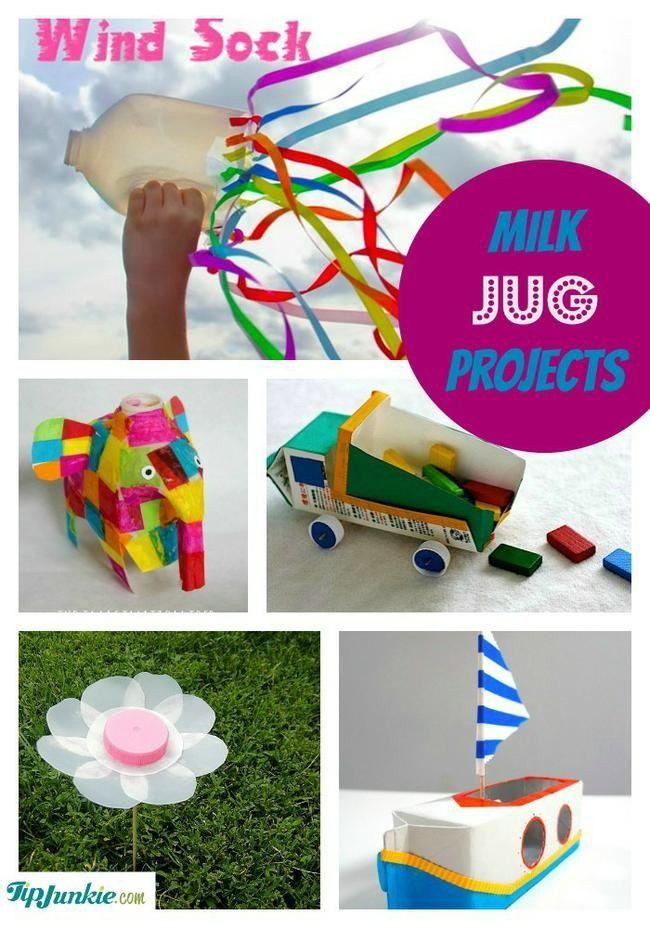 Milk Jug Projects