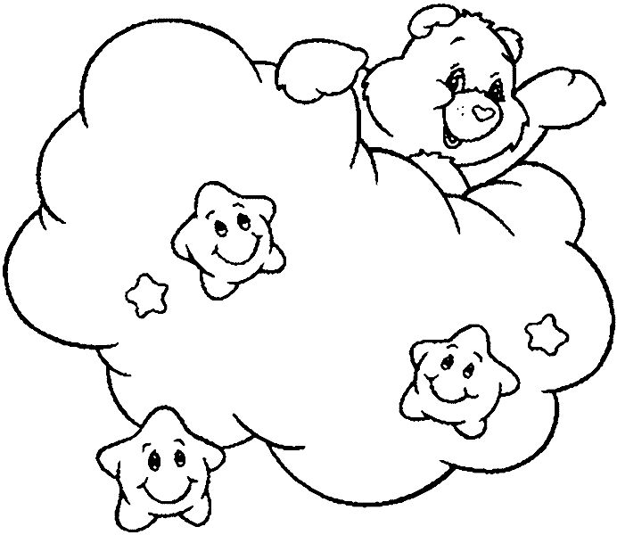 care bears coloring pages colouring
