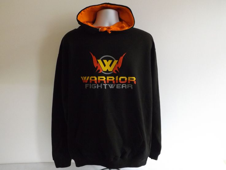 Warrior Original Hoodie in Black