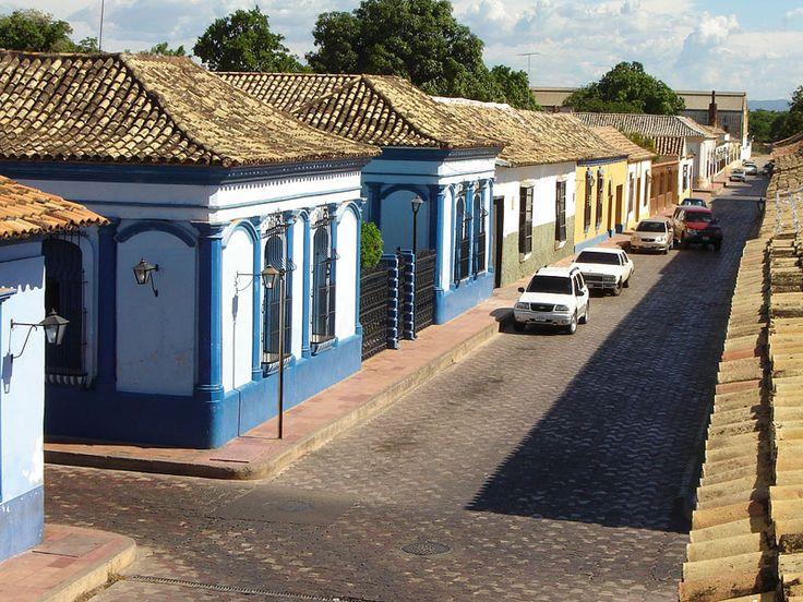 Casco central de la ciudad de Carora, municipio Torres, Lara.