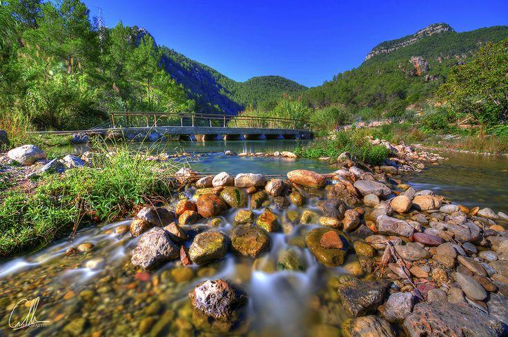 Piscinas Naturales del Río Mijares, Montanejos (Castellón) Spain