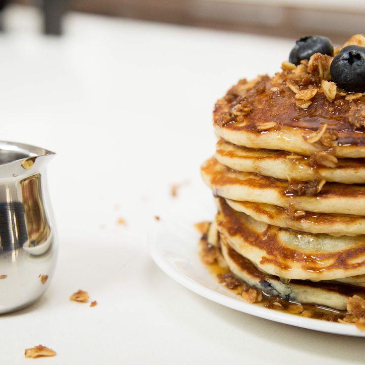 Blueberry Pancakes So Good, Your Mom Will Ask for the Recipe