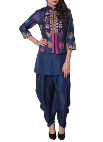Stylish Blue Salwar Suit by The Citrine | Indian Designers | Indian Clothes | Salwars