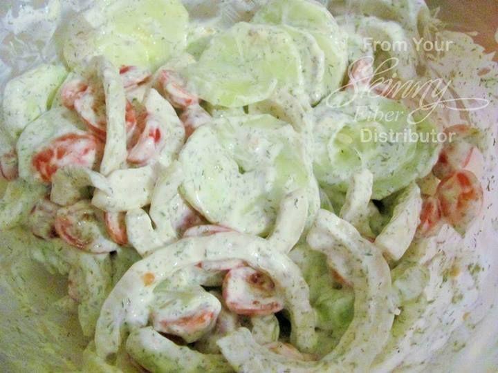 Creamy Yogurt-Dill Cucumber Salad Recipe - Changing Lives One Pound At ...