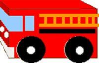 BRANDWEERWAGEN:  Benodigheden:  * leeg drinkkarton (bv melk- of sappak)  * verf  * karton  * lijm  * stevig gekleurd papier  * kurk  Werkwijze:  * Beschilder het pak rood.  * Knip uit karton 4 wielen, beschilder ze en  plak ze op het pak.  * De ramen, lampen, strepen en ladder op de ambulance maak je met gekleurd papier  * Het zwaailicht is gemaakt van een blauw geschilderde kurk.  Tip:  * Je kunt er ook nog een tekst op schilderen of een plaatje opplakken.