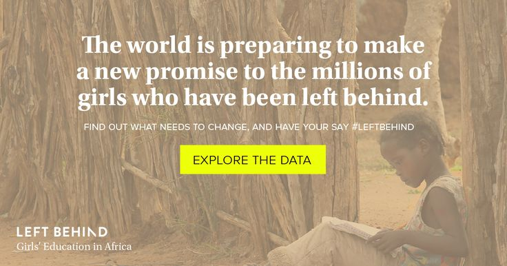 What would your life be like if you only had 5 years of schooling? For many African girls, this is all they can expect. Explore the data to see what needs to change so that no girl is left behind.