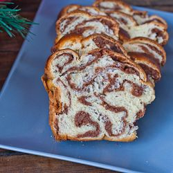 Sweet Walnut Bread. You wouldn't believe just how good this bread is. It is a traditional Romanian Christmas or Easter dessert.