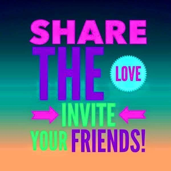 Invite your friends to the celebration event to earn entries into the grand prize drawing!! Join the event then invite 10 friends! Comment on the event page after you have invited your friends so I can send you your raffle numbers!! https://www.facebook.com/events/1870676386525305/
