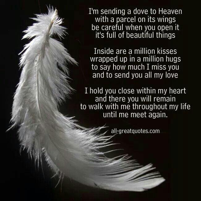 Best 25 Missing Someone In Heaven Ideas On Pinterest