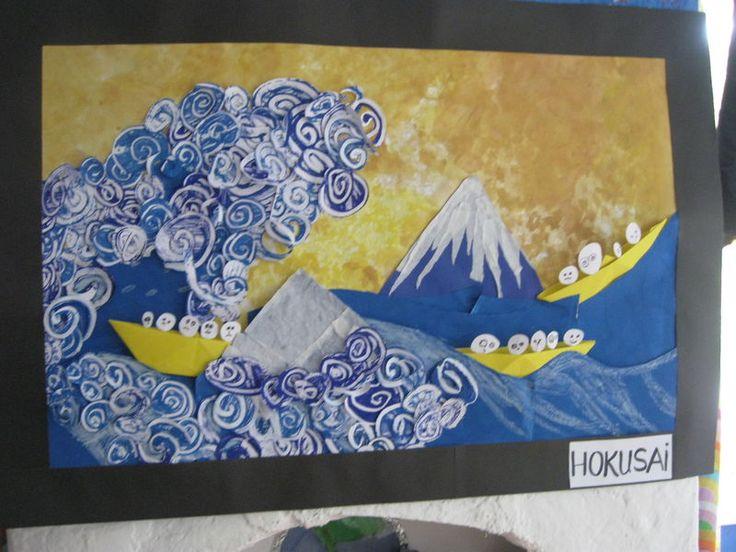 le japon :a la maniere de okasai - les maternelles de Marie-Paule
