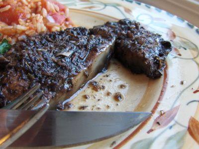 "Portobello ""Steaks""--you won't believe how meaty these are! #vegan, #glutenfree #recipe | rickiheller.com"