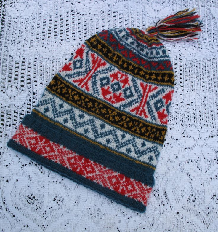 10 best Fair Isle Keps and other caps images on Pinterest | Fair isles