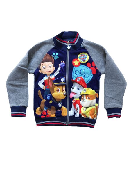 Your little Paw Patrol fan will be 'ready for action' with this lovely soft zip through jumper. Featuring the Paw Patrol crew