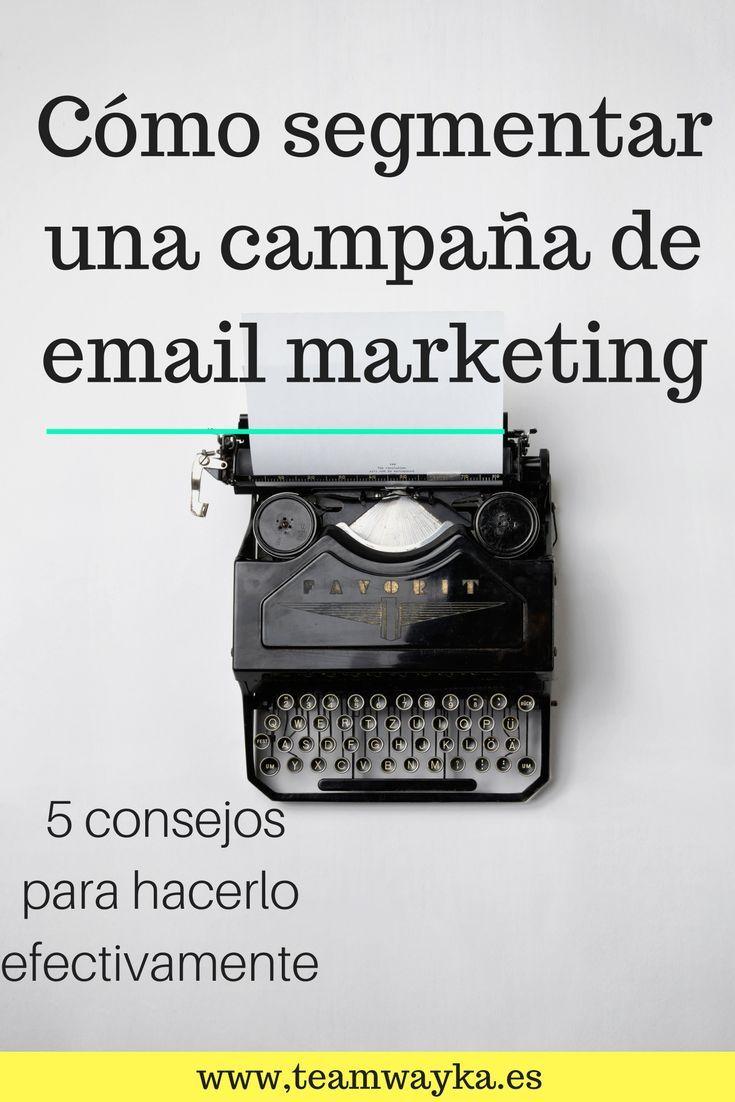 Cinco aspectos más importantes que debes tener en cuenta en el momento de segmentar tu campaña de email marketing