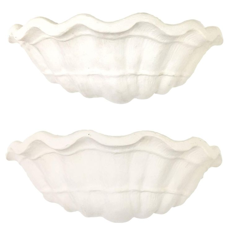 John Dickinson Custom Shell Form Wall Sconces