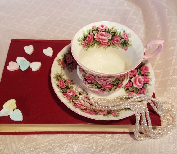 Vintage Teacup Royal Albert Rosa Fragrance Series by RetroEnvy21