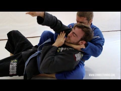 How to do the arm-in Ezekial choke    BJJ technique Dennis Asche Connect...