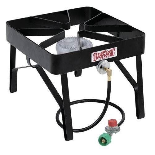 Bayou Classic Square High Pressure Single Propane Burner