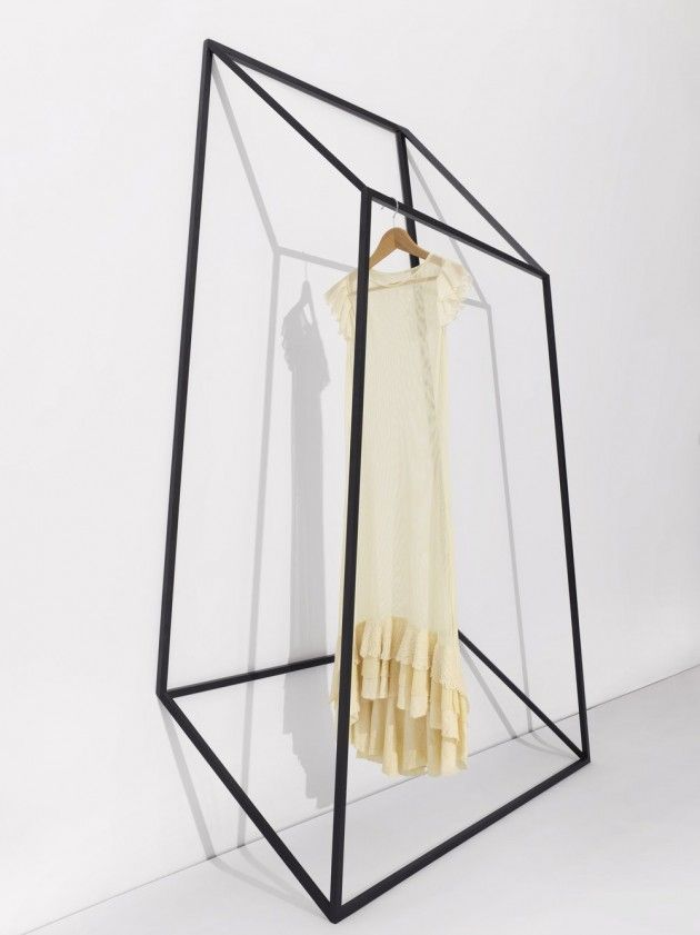 Les Ailes Noires Clothing Racks,2013  John Tong  www.tongtong.co  via contemporist.com    for #form