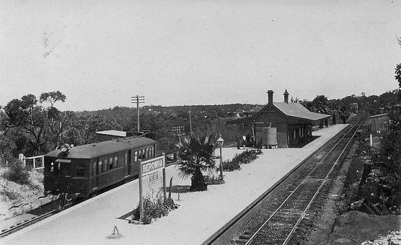 Berowra Railway Station.   The trip to Windybanks starts here