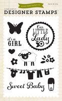 "Echo Park Bundle of Joy ""Girl"" Stamp Set: It's A Girl"
