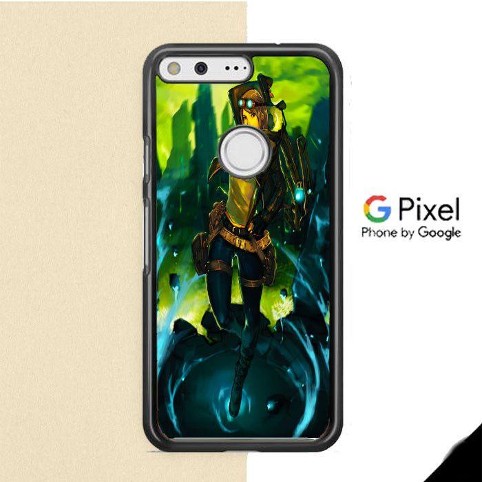 Anime Girl Hunter Google Pixel Case