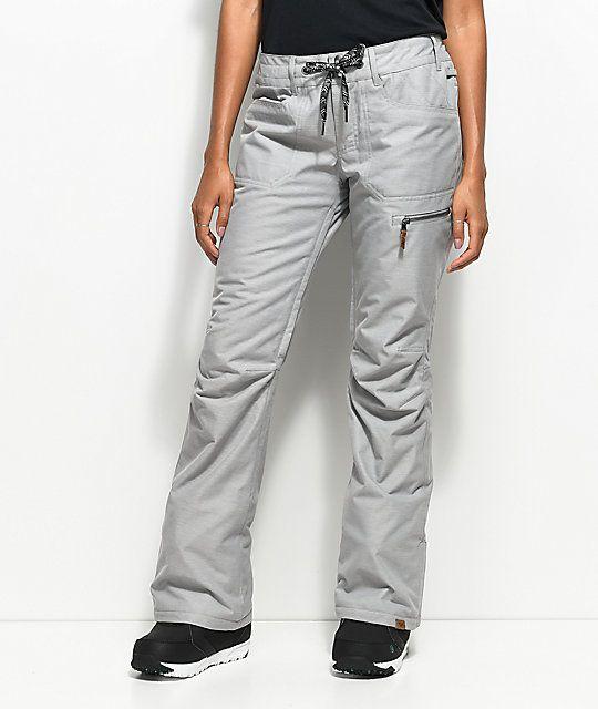 Roxy Rifter Grey 10K Snowboard Pants