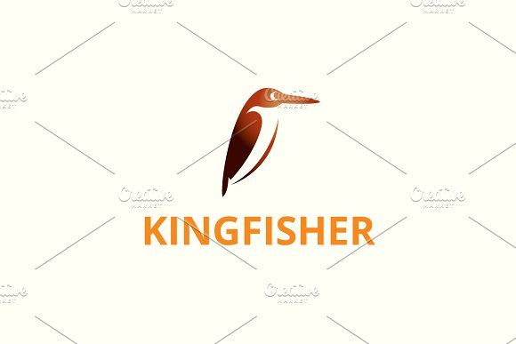 Kingfisher Logo Kingfisher Logos Bird Logos