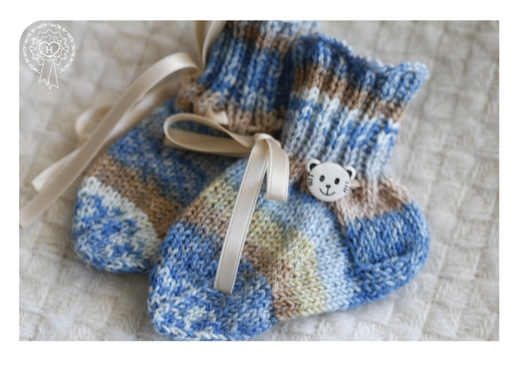 Sukat poikavauvalle / Socks for baby boy
