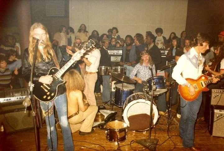 Allman Brothers Band (1974) | Allman brothers band, Allman brothers, Southern rock