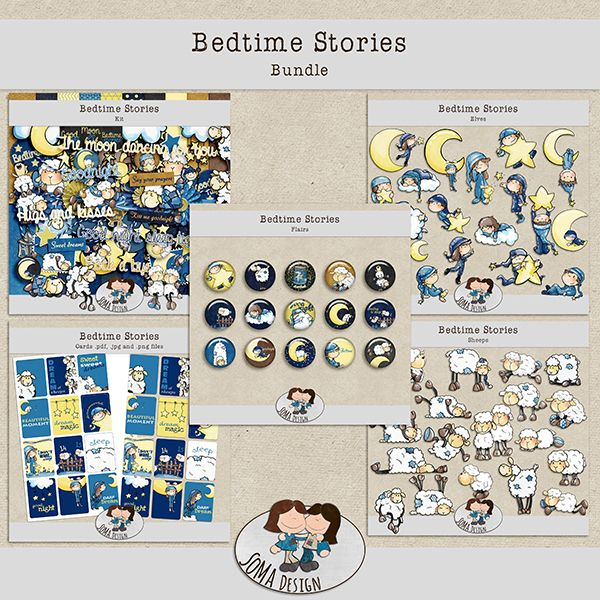 SoMa Design: Bedtime Stories - Bundle