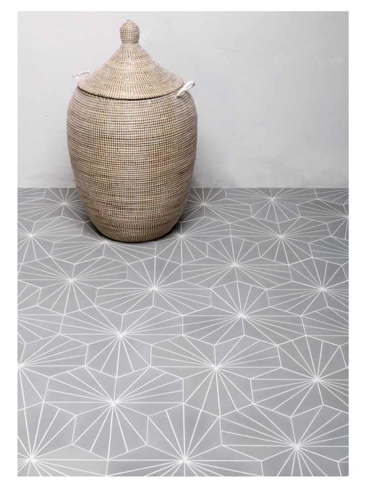 Love these Moroccan cement tiles by Claesson Koivisto Rune                                                                                                                                                     More