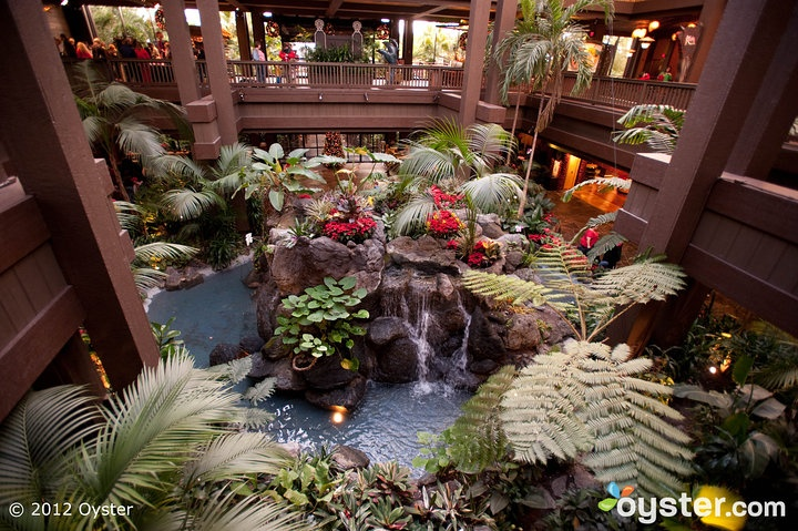 Lobby of the Polynesian Resort