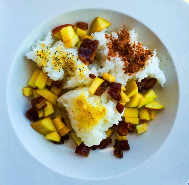 Vanille-Milchreis mit Äpfeln & Herbaria-Gewürze im Test