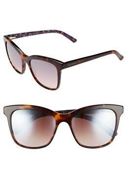 09aa06f512 TED BAKER LONDON Designer 55mm Cat Eye Sunglasses