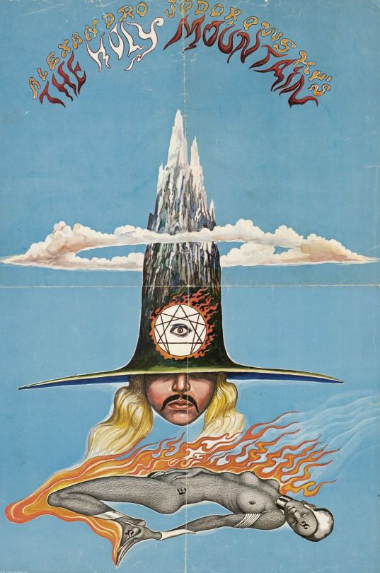 The Holy Mountain (1973) Directed by Alejandro Jodorowsky.