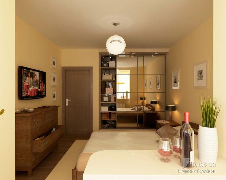 Проект объединения спальни с балконом, Максим Голубцов, Спальня, Дизайн интерьеров Formo.ua