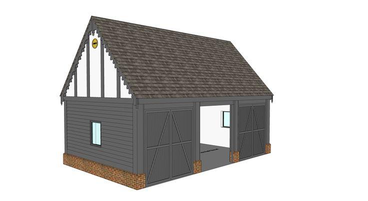 Garage proposal B - Ketteringham, Norfolk -  Image l