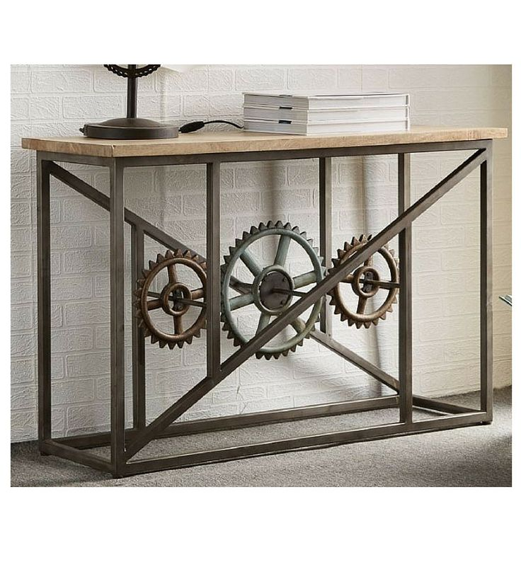 The Millhouse Industrial Console Table - Onske  - 1