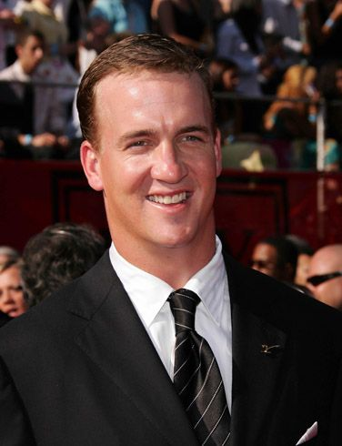 I'd ask Peyton Manning two questions. 1. What's it like being the best quarterback in the history of the modern world? 2. Is it hard to talk like you have marbles in your mouth?