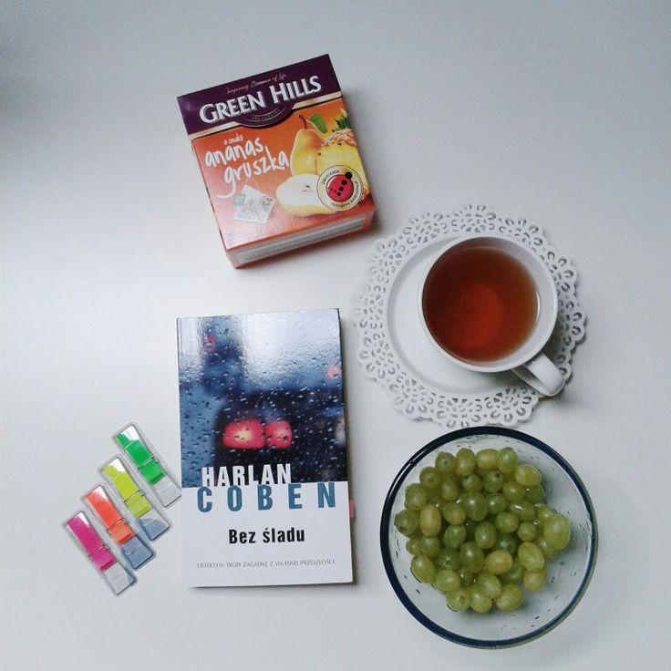Harlan Coben, bez śladu, tea, book