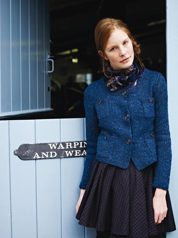 Jestina Cardigan (Knitting Pattern)   Rowan