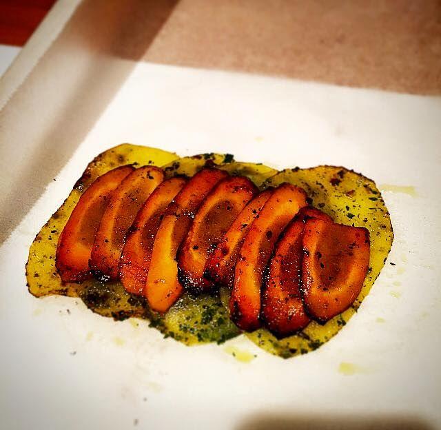 pommes de terres et carottes mandoline