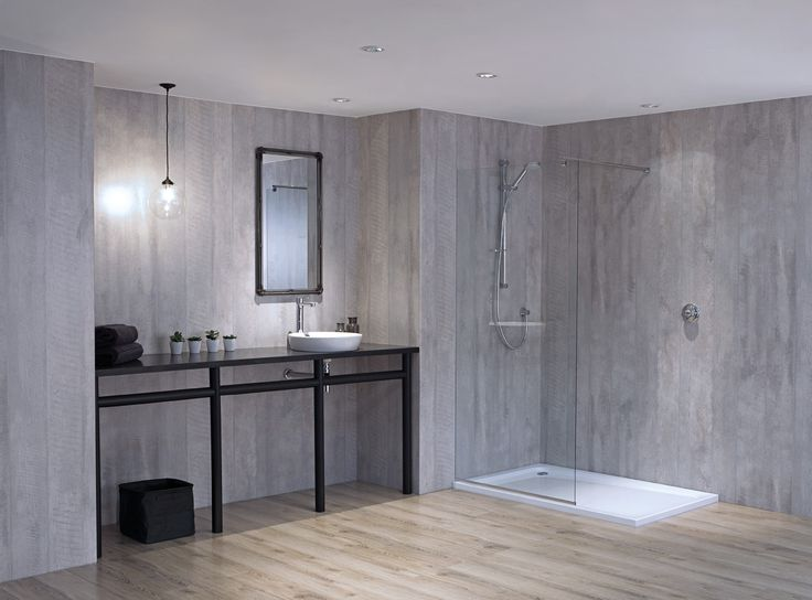 New Nuance  Concrete Formwood Panels With Solid Surface Black Sparkle  Vanity Surface