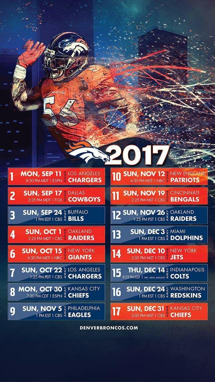 Can't wait! Let's go Broncos!!!
