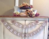День благодарения украшения баннер осень украшения знак овсянка баннеры гирлянды Give Thanks Осень подарков украшения хозяйки